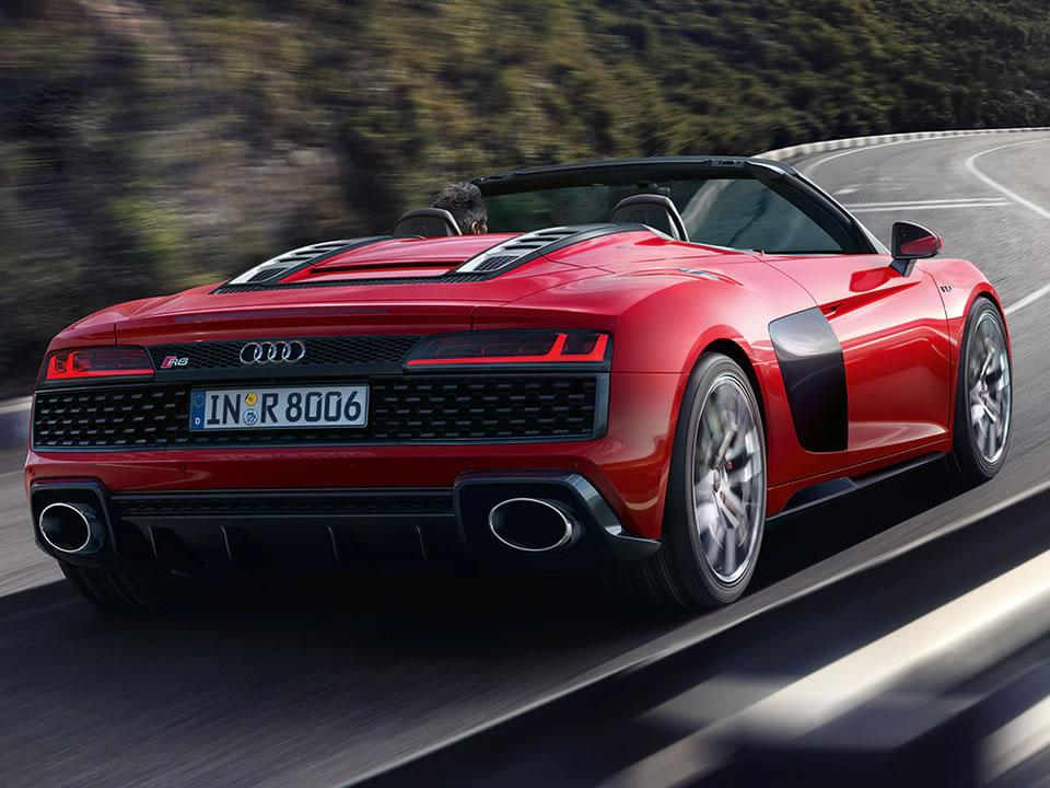 Audi R8 Spyder V10 Quattro 01